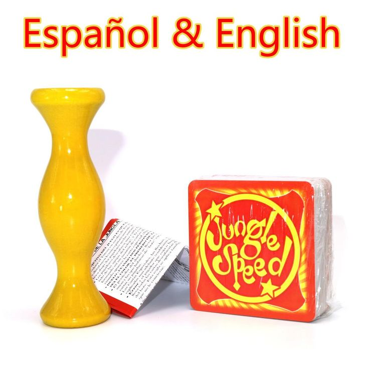 [Visit to Buy] English Spanish Jungle Speed board game cards for family party kids table playing Selva juego de mesa de velocidad #Advertisement