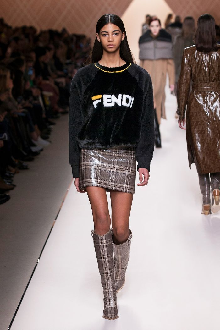 4e790f4cbc9 Check out all the highlights from the Fendi fall 2018 runway show