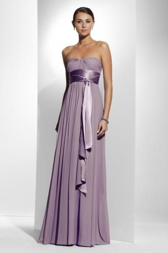 Lavender Bridesmaid dress! Mine will have the choice to have sleeves or not though... and they wont have the huge ribbon. and the sleeves will be butterfly style... lets see if I can find an example ;)