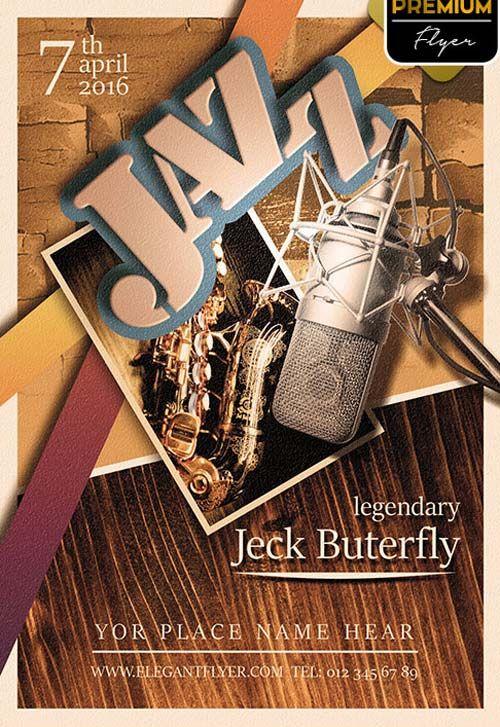 Jazz Night Free PSD Flyer Template - http://freepsdflyer.com/jazz-night-free-psd-flyer-template/ Enjoy downloading the Jazz Night Free PSD Flyer Template by Elegantflyer!  #Bar, #Club, #Elegant, #Event, #Girls, #Jam, #Jazz, #Lounge, #Pub