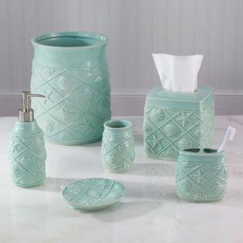 avanti shell trellis bath accessories our home