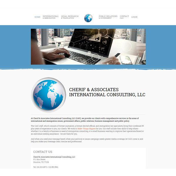 Cherif & Associates International Consulting, LLC