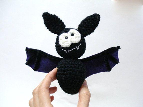 Amigurumi Pattern Amigurumi Bat Pattern Crocheted Bat by AllSoCute, $4.00