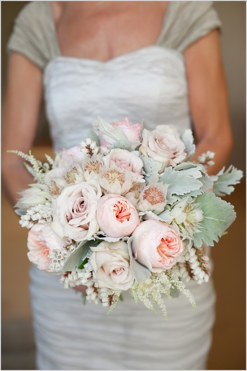White mint blush wedding