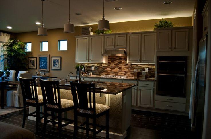 Image result for lighting under kitchen island