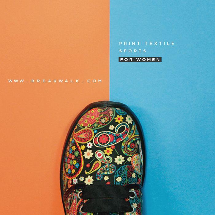 Zapatillas en Estampado Liberty London para Mujer. Break&Walk.