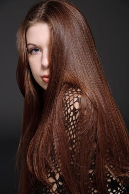 chestnut hair...for those who want just a hint of red!
