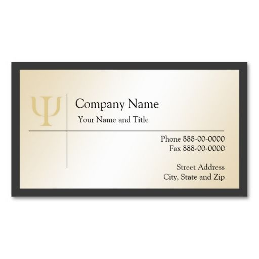 17 best psychology business cards images on pinterest card psychologist business card reheart Gallery