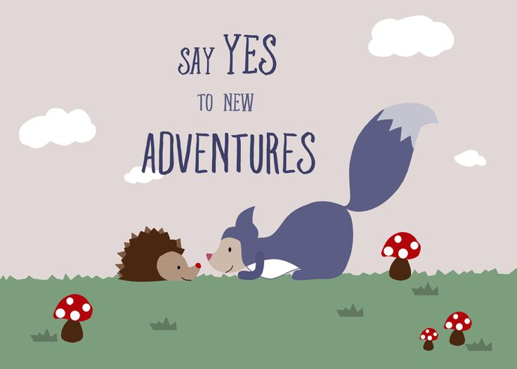 Say YES to new Adventures by Kathrin Legg
