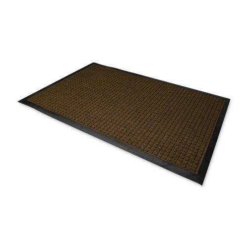 Genuine Joe Indoor/Outdoor Mat Waterguard 3u0027X5u0027 Brown by  sc 1 st  Pinterest & 26 best Garden - Doormats images on Pinterest | Door rugs Doormats ...