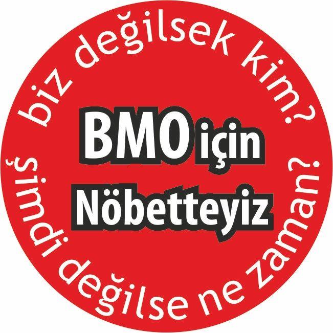 24 Mart EMO 42. Olağan Genel Kurulu süresince kullanılan rozet tasarımı..