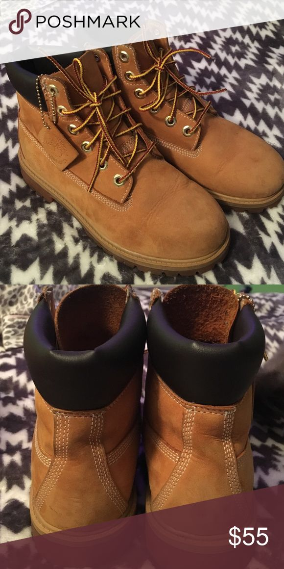 Youth Size 4 Timberland Boots! Youth Timberland boots for sale! Genuine leather, man made & waterproof! Timberland Shoes Boots