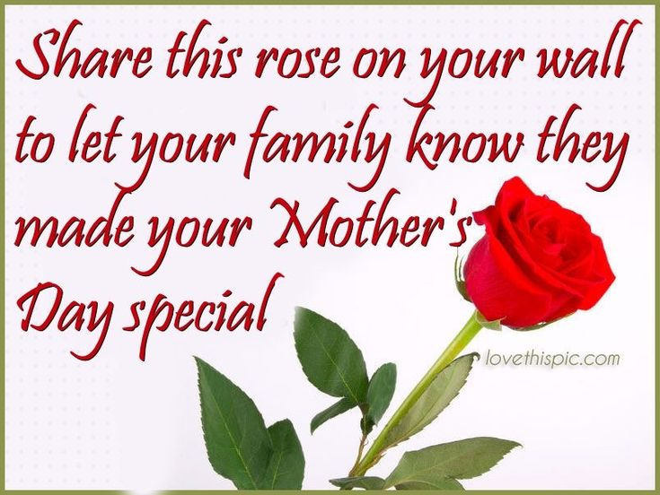 Share This Rose If Your Mothers Day Was Special quotes quote mothers day family quotes mothers day quotes mothers day quote