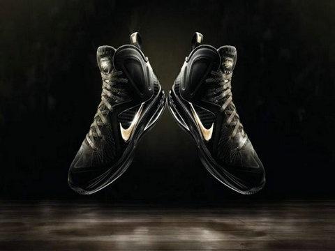 Nike LeBron 9 PS Elite Away Black Metallic Gold,Style Black/Metallic-Gold,Sub  Style: Basketball,Release Date: May 2012
