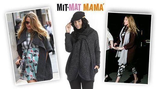 Statement coats. ¿Qué te parece esta tendencia de ropa premama? Si te gusta no te pierdas el abrigo Alaska de Mit Mat Mamá.  #abrigospremama #abrigosembarazada #ropapremamainvierno