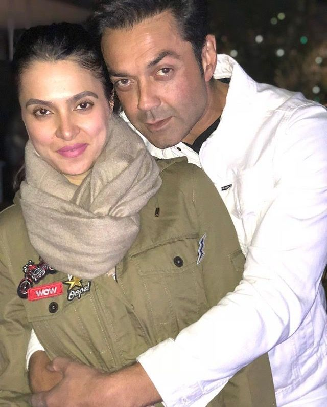 Bobby Deol With His Wife Tanya Bobby Deol In 2019 Pinterest