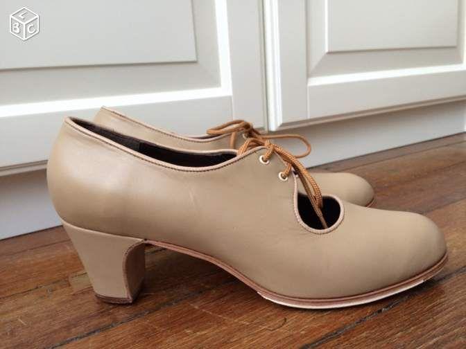 Chaussures de flamenco professionnelles Gallardo Chaussures Hauts-de-Seine - leboncoin.fr