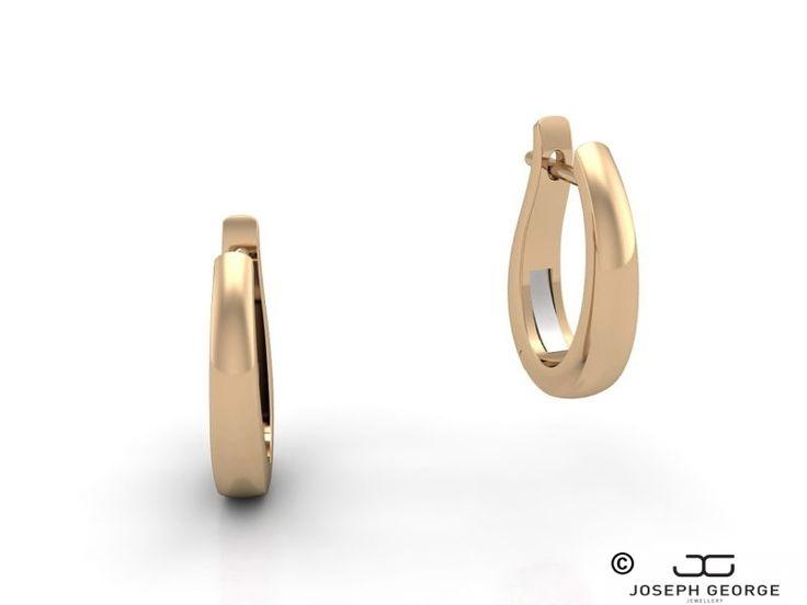 Huggie Earrings Antigone - Joseph George - http://www.josephgeorge.com.au/?p=8959 -