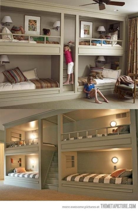 Love this idea for a finished basement
