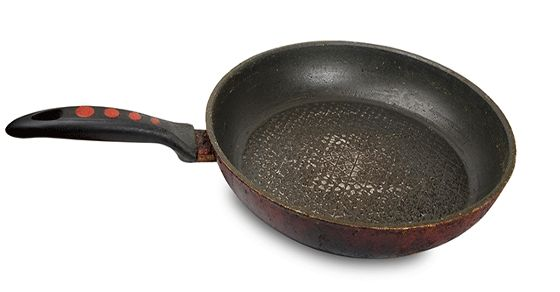Veggie Goddess Blog - 'THIS IS WHY YOU SHOULD THROW OUT YOUR TEFLON PANS' (click to read) http://www.theveggiegoddess.com/teflon-dangers/ #veggiegoddess