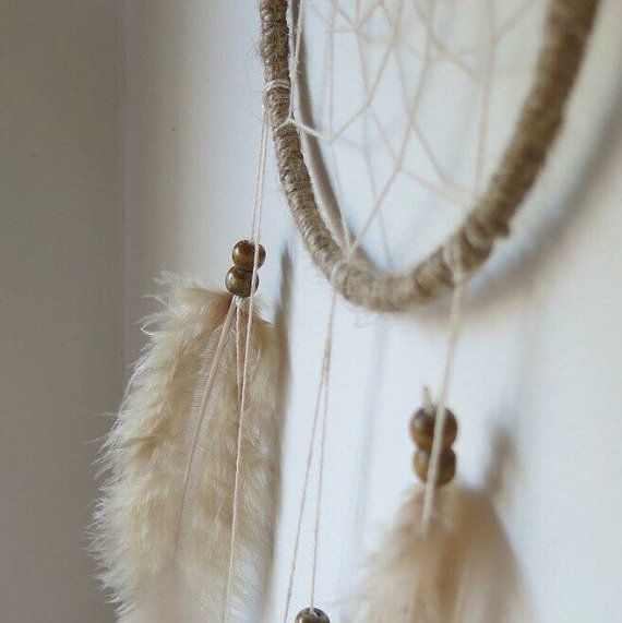 Natural Dream Catcher With Lace Designs/ by ExpressiveSewing