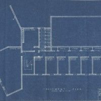 7 best architectural plans l blueprint images on pinterest this is the original blueprint of hornbostel and bennetts winning design from the 1938 competition to malvernweather Choice Image