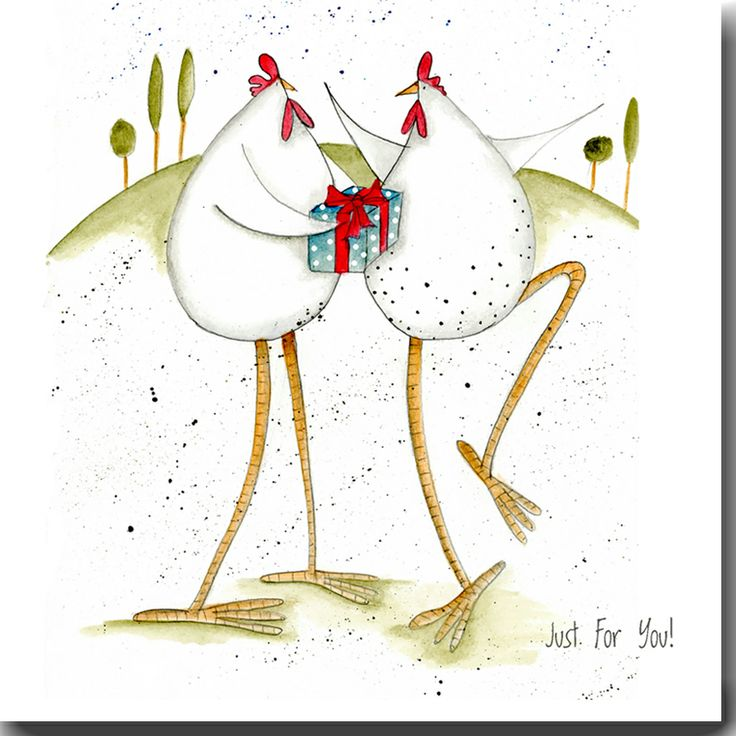 Just for you! Greeting Card www.theskinnycardcompany.co.uk