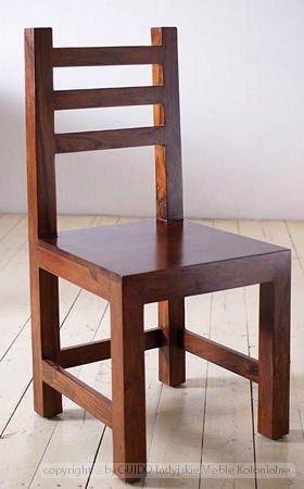 Krzesła Fotele Ławki - Wymiary: 45x45x100 - 450zł - meble kolonialne - Guido - Sklep internetowy Guido