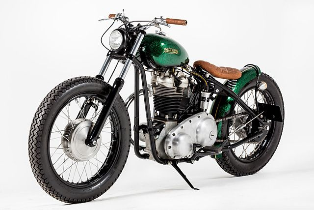 '60 Matchless 3GLS – Rock Solid Motorcycles  |  PIpeburn.com