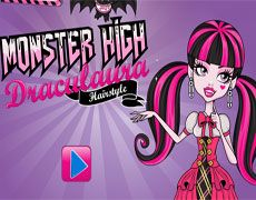 Monster High Draculaura Hairstyle | Juegos Monster High