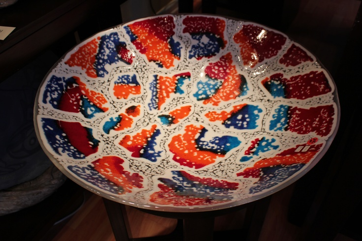 Foam Glass Bowl by Karena Lawrence