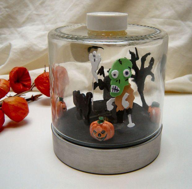 animated halloween diorama - Halloween Diorama Ideas