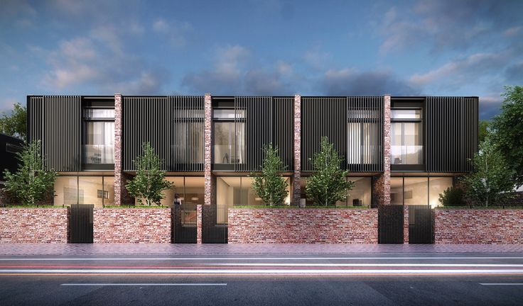 Stepney town houses Proske Architects