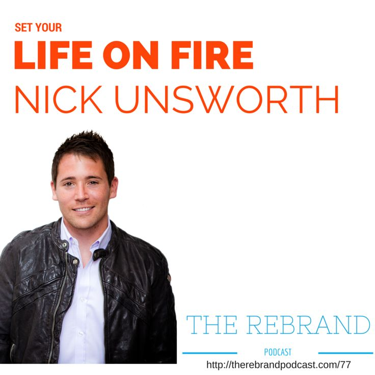 Nick Unsworth on The Rebrand Podcast with James Tew