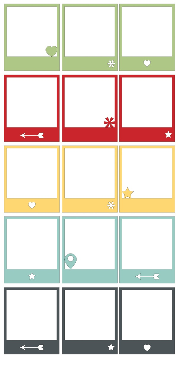Frames nice and easy to recreate on silhouette #projectlife #silhouetteportrait