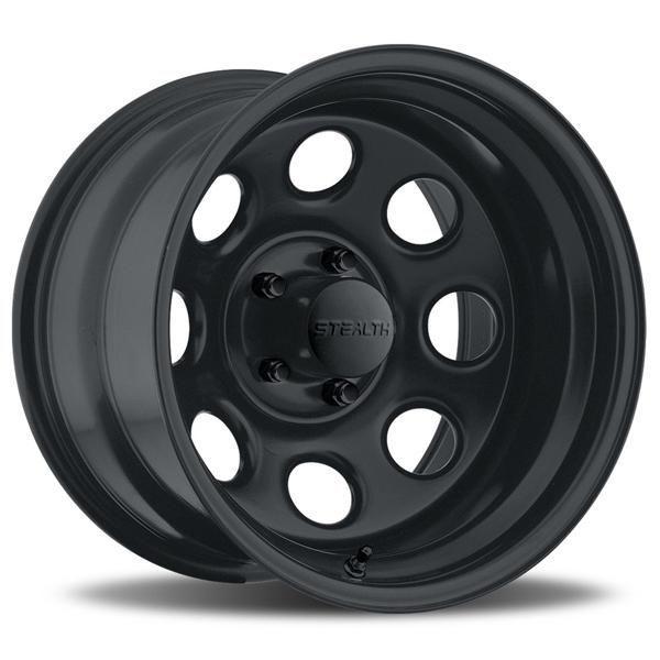 Stealth Crawler 044 Series Matte Black Rim By Us Wheels Wheel Size