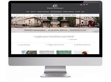 Domovoi - Functionally the website was to promote the services provided by Domovoi, showcase properties they manage and let and their understanding of Britain and ability to settle business customers and families into a foreign place. http://www.infotex.co.uk/our-work/view/Domovoi-Estate-Agent