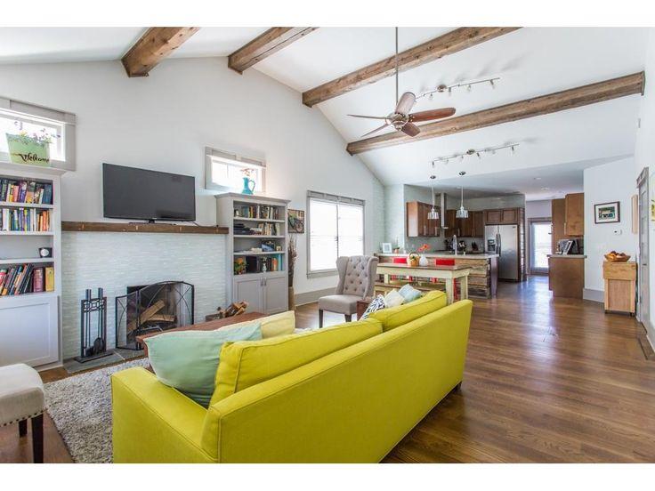 Open Living Space At 484 Glen Iris Drive, Atlanta GA   Old Fourth Ward  Bungalow