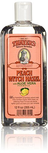 Thayers Peach Witch Hazel Astringent with Aloe Vera - 12 oz.  //Price: $ & FREE Shipping //     #hair #curles #style #haircare #shampoo #makeup #elixir