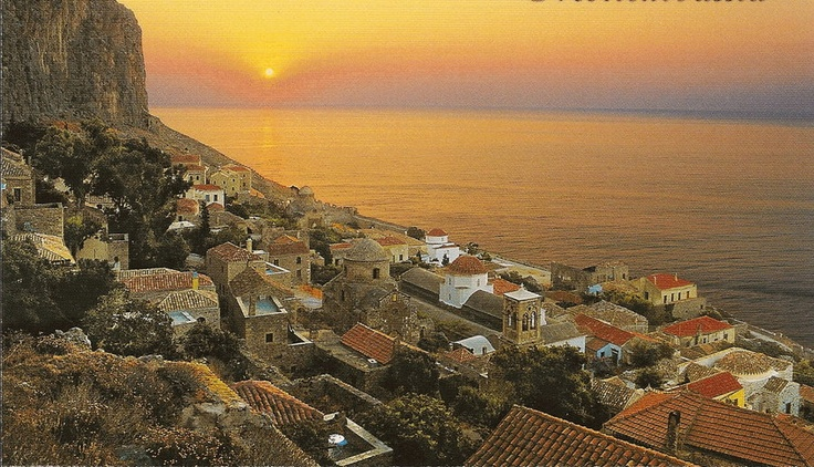 Oh! Monemvasia... I love this place...I got engaged there!