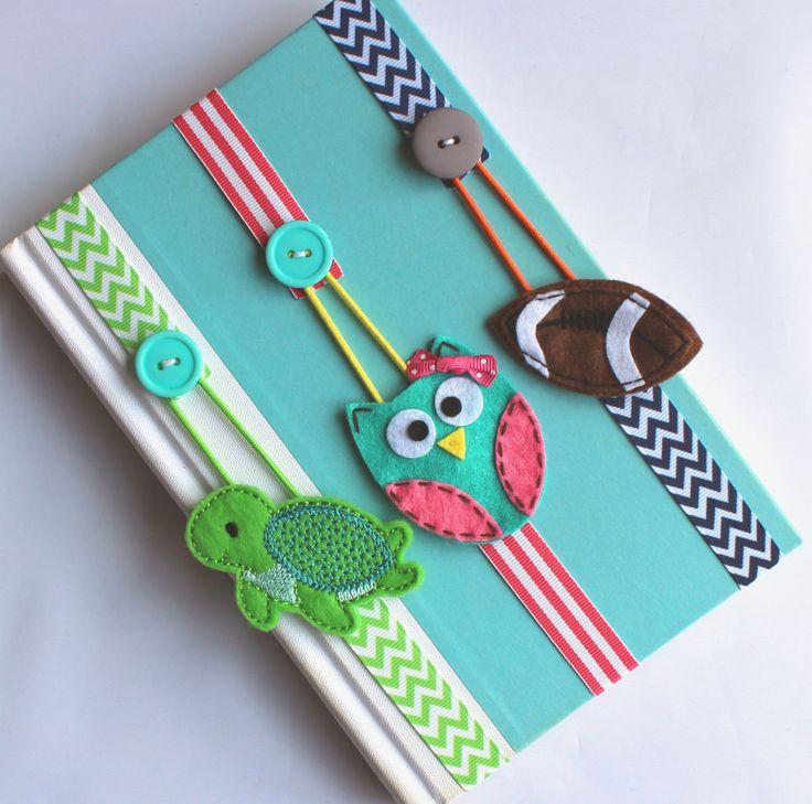 Pick ANY 2 Bookmarks Elastic Ribbon Bookmark Erin by BabyWhatKnots