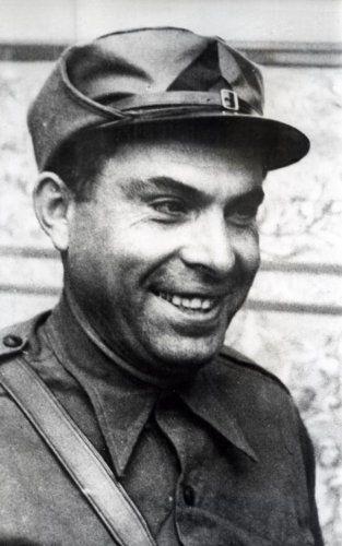 Onbekend | Buenaventura Durutti  Anarchistische leider tijdens de Spaanse burgeroorlog, foto  1936.