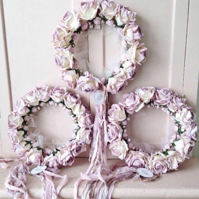 Shabby Chic Rose Crowns