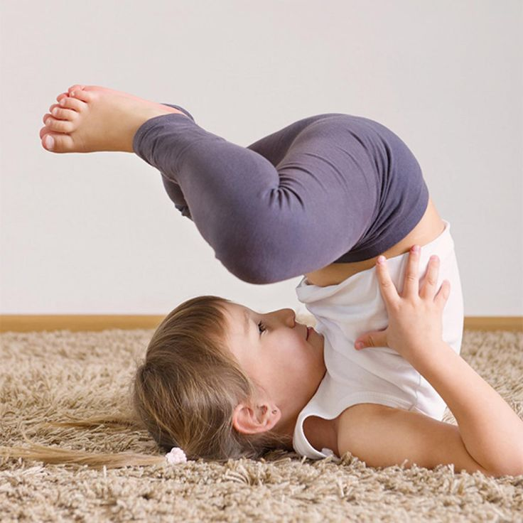 "Bedtime Yoga for Kids.  Because I know ""someone"" who doesn't like to sleep!"