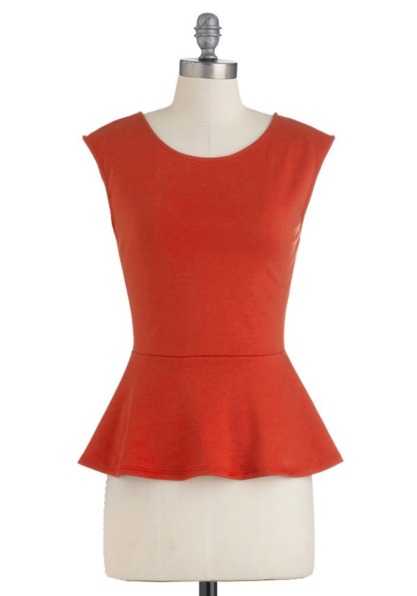 Peplum top tutorial - half cirlce skirt
