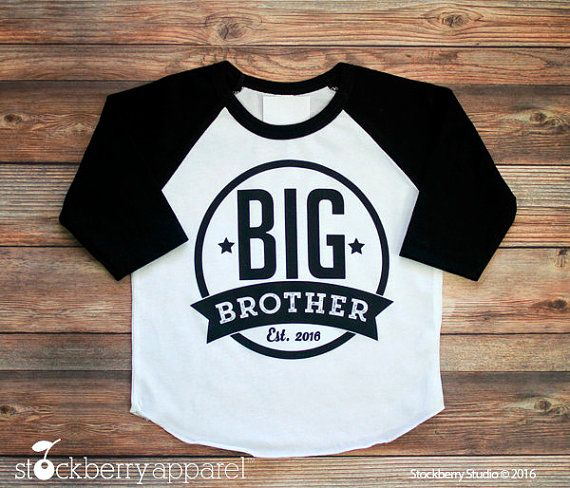 Big Brother Shirt  Personalized Big Brother by stockberryapparel