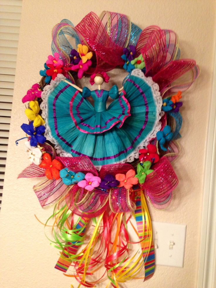 Cinco De Mayo Wreath