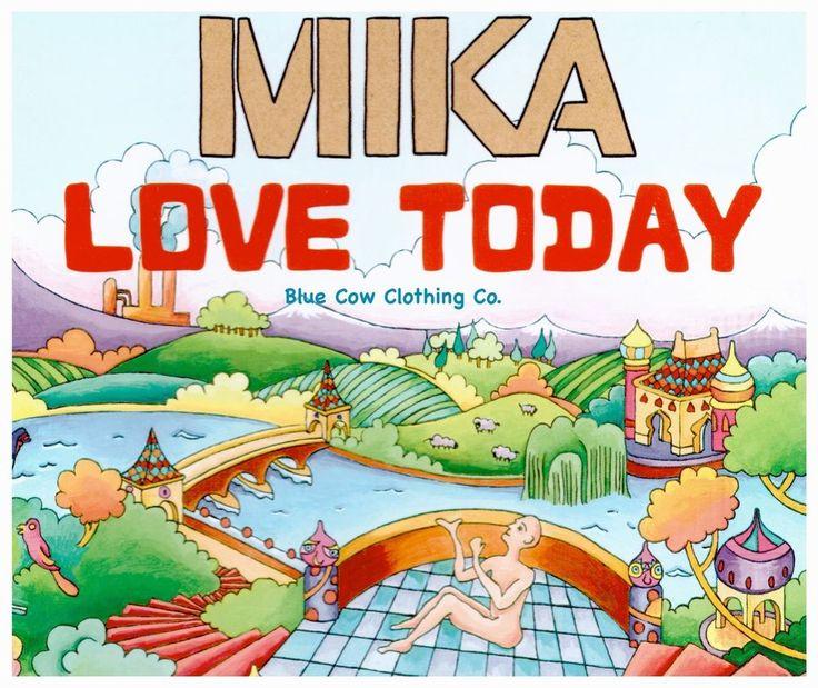 Mika Love Today CD Single 2007 VGC UK CD Single Original Edition