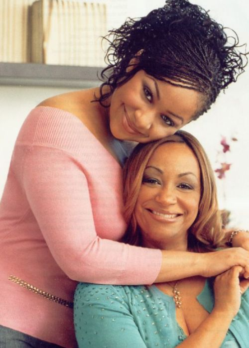 Raven Symone and her mother, Lydia