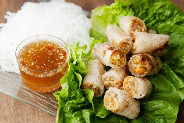Vietnamese Fried Spring Rolls Cha Gio